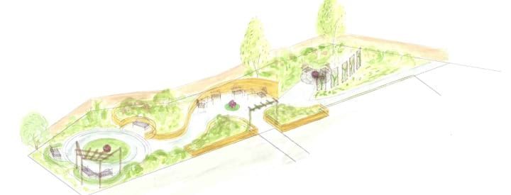 The latest on our sensory garden project